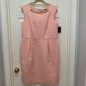Ellen Tracy Sheath Dress - Blush - Tags/Never Worn